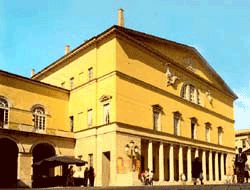 Regio theater of Parma
